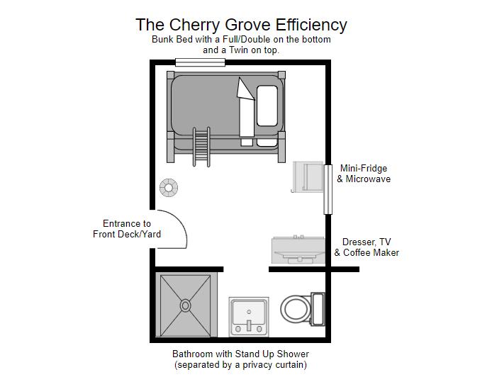 Floor Plan for Cherry Grove Efficiency